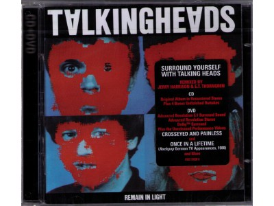 Audiofriend.cz - TALKING HEADS - REMAIN IN LIGHT - dvd-audio