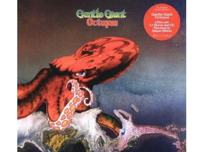 Audiofriend.cz -  Gentle Giant ‎- Octopus (Blu-ray Audio Disc + CD)