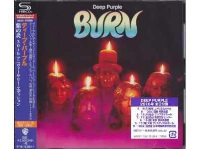 Audiofriend.cz - Deep Purple ‎- Burn (SHM-CD)
